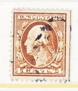 U.S. 377  Perf 12.  (o)   Single Line Wmk.   1910-11 Issue - United States