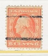 U.S. 379  Perf 12.  (o)   Single Line Wmk.   1910-11 Issue - United States