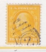 U.S. 381    Perf 12.  (o)   Single Line Wmk.   1910-11 Issue - United States