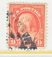 U.S. 415    Perf 12.  (o)   Single Line Wmk.   1912-14 Issue - Used Stamps