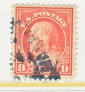 U.S. 415    Perf 12.  (o)   Single Line Wmk.   1912-14 Issue - United States