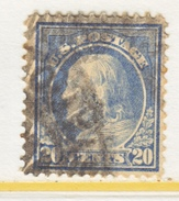 U.S. 419    Perf 12.  (o)   Single Line Wmk.   1912-14 Issue - Used Stamps