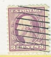 U.S. 426   Type  I   Perf 10.  (o)   Single  Line Wmk.  Flat Press   1913-15 Issue - United States