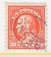 U.S. 439     Perf 10.   (o)   Single  Line Wmk.  Flat Press   1914 Issue - United States