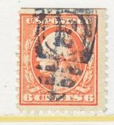 U.S. 468   Perf 10.   (o)   No  Wmk.  Flat Press   1916-17 Issue - United States