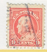 U.S. 471   Perf 10.   (o)   No  Wmk.  Flat Press   1916-17 Issue - Used Stamps