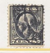 U.S. 507   Perf 11.   (o)   No  Wmk.  Flat Press   1917-19 Issue - United States