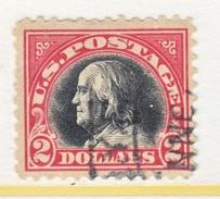U.S. 547   Perf 11. Fault   (o)     No  Wmk.  Flat Press   1920 Issue - United States