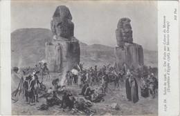 POSTCARD FRANCE - SALON DE 1906  - Maurice Orange   - Une Visit Aux Colosses Du Memnom - Malerei & Gemälde