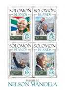 SOLOMON ISLANDS 2014 SHEET NELSON MANDELA NOBEL PRIZE Slm14113a - Solomon Islands (1978-...)