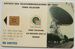 Togo Phonecard 50 Units Chip Card - Togo