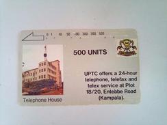 Uganda Phonecard 500 Units Telephone House