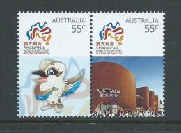Australia 2010 Shanghai Expo Joined Pair MNH - 2000-09 Elizabeth II
