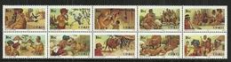 Ciskei - 1988 Folklore Full Set Of 10 MNH - Ciskei