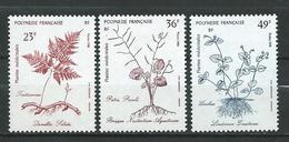 French Polynesia 1988 Medicinal Plants.MNH - Nuovi