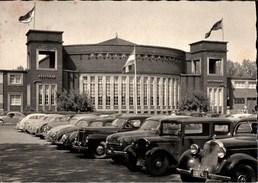 ! Alte Ansichtskarte 1955 Düsseldorf Rheinterasse , Autos, Automobile, Mercedes, VW Käfer, Cars - KFZ