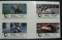 Isle Of Man - GPT - Set Of 4 - 910B To E - Carl Fogarty, John Surtees, Dave Molyneux, Bob McIntyre - Mint In Folder