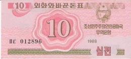 COREE Du NORD   10 Chon   1988   P. 33   UNC - Corée Du Nord