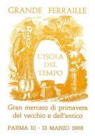 [MD0950] CPM - IN RILIEVO - PARMA - L'ISOLA DEL TEMPO - GRANDE FERRAILLE - GRANDE MERCATO - Non Viaggiata 1988 - Parma