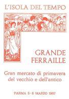 [MD0951] CPM - IN RILIEVO - PARMA - L'ISOLA DEL TEMPO - GRANDE FERRAILLE - GRANDE MERCATO - Non Viaggiata 1987 - Parma