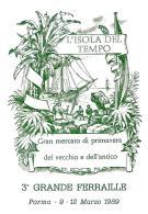 [MD0952] CPM - IN RILIEVO - PARMA - L'ISOLA DEL TEMPO - GRANDE FERRAILLE - GRANDE MERCATO - Non Viaggiata 1989 - Parma