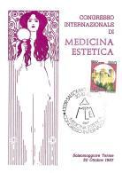[MD0953] CPM - IN RILIEVO - SALSOMAGGIORE (PARMA) - CONGRESSO INT. DI MEDICINA ESTETICA - CON ANNULLO 30.10.1987 - NV - Parma