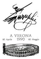[MD0955] CPM - IN RILIEVO - VERONA - ALL'ARENA - CARTOLINA RICORDO - NV 1990 - Verona