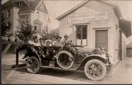 ! Seltene Alte Fotokarte Automobil, Firma Kabeso, Merscheid Solingen, Photo - Automobile