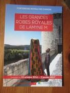 Chinon. Les Grandes Robes Royales De Lamyne M. [Carte Postale Publicitaire De Tourisme 2016] - Chinon