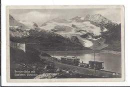 16520 - Bernina Bahn Mit Cambrera Gletscher Train - GR Grisons