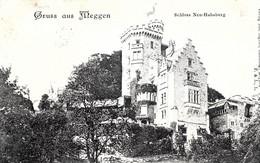 LU Lucerne. Meggen. Schloss Neu Habsburg. - LU Luzern