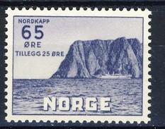 #Norway 1957. (2) Nordkapp ( Cape North). Michel 410. MH(*) - Ungebraucht