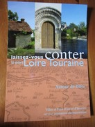 Laissez-vouz Conter Le Pays Loire Touraine Autour De Blere [Carte Postale Publicitaire De Tourisme] - Bléré
