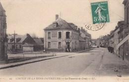 CRIEL - SEINE-MARITIME - (76) -  CPA DE 1908 - CLICHE INÉDIT SUR CE SITE - Criel Sur Mer