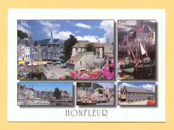 CPM FRANCE 14  -  HONFLEUR  -  Le Vieux Bassin Et Les Façades Du Quai Ste-Catherine  ( Le Goubey 1998 ) - Honfleur