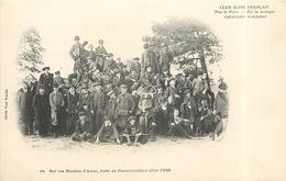 CLUB ALPIN FRANÇAIS -  Sur Les Roches D'avon, Forêt De Fontainebleau (mai 1902). - Avon