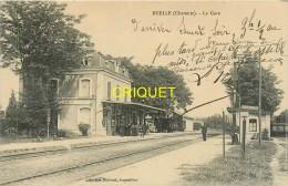 16 Ruelle, La Gare, Chef De Gare, Cheminots, Voyageurs... - Frankrijk