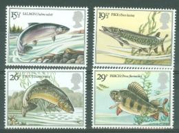 G.B.: 1983   British River Fish   MNH