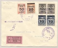 Suriname - 1929 - Eerste Luchtpostzending Van Paramaribo Naar New York / USA - Mooie Frankering - Suriname ... - 1975