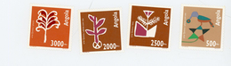 Angola 1994-Art Quioca,dessins De Plantes YT919/22***MNH - Angola
