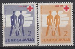 JOEGOSLAVIË - Michel - 1959 - Nr 22 + 18 (STRAFPORT) - MNH** - Charity Issues
