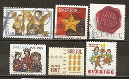 Suede Sweden Collection Noel Christmas Julpost Obl