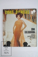 1970's Spanish Secret Life Magazine - Gina Lollobrigida Cinema Actress - Revistas & Periódicos