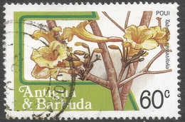 Antigua. 1983 Fruits And Flowers. 60c Used. SG 805 - Antigua And Barbuda (1981-...)