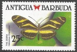 Antigua. 1988 Caribbean Butterflies. 25c Used. SG 1234 - Antigua And Barbuda (1981-...)