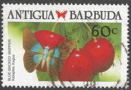 Antigua. 1988 Caribbean Butterflies. 60c Used. SG 1239 - Antigua And Barbuda (1981-...)