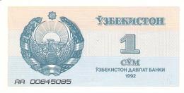 OUZBEKISTAN   1 Sum   1992 (1993)   (# Serial Diff.)   P. 61a   AUNC - Uzbekistán