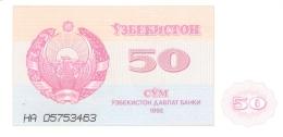 OUZBEKISTAN   50 SUM   1992 (1993)   P. 66a   UNC - Uzbekistan