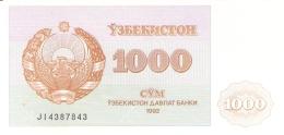 OUZBEKISTAN   1000 Sum   1992 (1993)   P. 70b   UNC - Uzbekistan