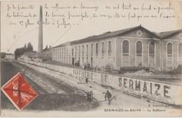 CPA 51 SERMAIZE LES BAINS La Raffinerie Usine Sucre Cheminée 1910 - Sermaize-les-Bains